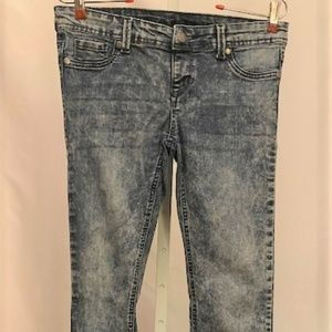 Blue Asphalt Stretchy Skinny Jeans, Size M Regular
